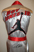Roy Jones Jr. Robe - Autographed Boxing Robes and Trunks