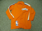 Carl Nicks Cleveland Cavaliers 1982-84 Game Worn Warm Up Suit