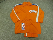 John Bagley Cleveland Cavaliers 1982-84 Game Worn Warm Up Suit