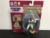 Joe Morgan Cinncinati Reds HOF Collectible Toy Action Figure with Trading Card