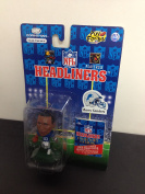 1996 Barry Sanders Detroit Lions NFL Football Figure by Headliners with collectors catalogue