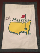 ARNOLD PALMER Signed Masters Flag Garden Flag Authenticated COA - PSA/DNA Certified - Autographed Pin Flags