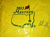 Bubba Watson autograph signed Masters Flag from 2012 victory - Autographed Pin Flags