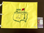 Ian Woosnam Signed 2016 Masters Flag Coa - JSA Certified - Autographed Pin Flags