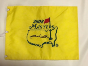 Jim Nantz Signed 2008 Masters Pin Flag Cbs Announcer Proof Autographed - Autographed Pin Flags