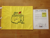 Arnold Palmer Signed 2014 Masters Flag Loa - PSA/DNA Certified - Autographed Pin Flags