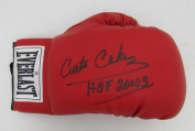 Curtis Cokes HOF Signed Everlast Boxing Glove R88909 - JSA Certified - Autographed Boxing Gloves