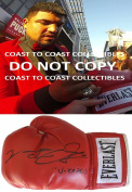 Victor Ortiz,wbc Boxing Champ,signed,autographed,boxing Glove,coa,with Proof. - Autographed Boxing Gloves