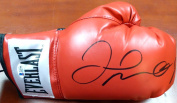 Floyd Mayweather Jr. Autographed Red Everlast Boxing Glove RH Beckett BAS