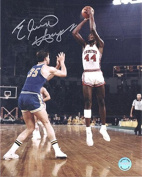 Signed Elvin Hayes Picture - Cougars 8x10 White 11586 - Autographed NBA Photos