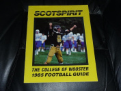 1985 COLLEGE OF WOOSTER COLLEGE FOOTBALL MEDIA GUIDE EX-MINT BOX 40