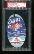 1946 Indianapolis Indy 500 Press Pass Ticket 5/30/46 George Robson PSA *6761