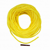 Lehigh DF850W-P 15m Polypropylene Hollow Braid Floating Rope, Yellow