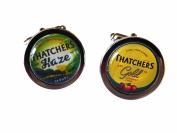 Thatchers Gold & Haze Cider Chrome Cufflinks