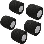 Jia Jia Trade Self-Adhesive Bandage Rolls Muscle Support Adhesive Bandage Gauze for Athletic Sports,