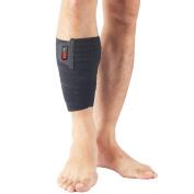 Vitoki Mumian Sport High elasticity Calf Knee Elbow Wrist Ankle Hand Compression Brace Support Wrap Bandage with Silicone Pressure Massage Strap - 1PCS