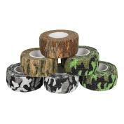 Andux Land 6 Camouflage set multifunction colour woven medical adhesive bandage Random Colour ZZTXBD-03