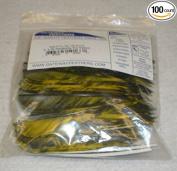 Gateway Feathers 10cm RW Parabolic Tre Yellow Pkg/100