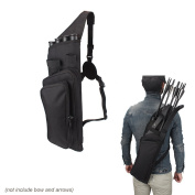 Krayney Multi-function 4-Tubes Back Arrow Quiver Shoulder Hanged Target Shooting Archery Quiver for Arrows Takedown Bow