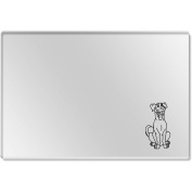 'Happy Dog' Clear Acrylic Table Placemat