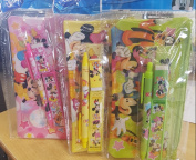 Disney Mickey Mouse and Friends Pencil Case N stationery Set