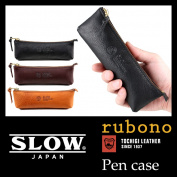 Slow SLOW rubono pencil case men gap Dis leather genuine leather pen case 300S19C