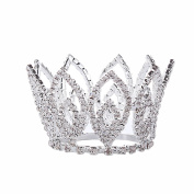 Santfe Small Size Baby Girl's Tiara Crown Girl Head Accessories HairJewelry