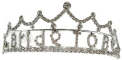 Signature Tiara Bride To Be with Clear Crystals Tiara