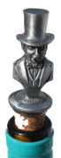 Isambard Kingdom Brunel Pewter Bottle Stopper - Hand Crafted Made In The Uk