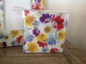 Gisela Graham Daisy Days Acrylic Floral Drinks Coasters Set/4