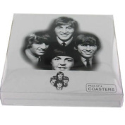 The Beatles Set Of Four Coasters In Pack