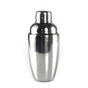 Happynuts Cocktail Shakers Capsule 530ml Tripartite Stainless Steel Bar Shaker