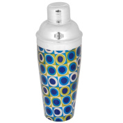 Kosma Stainless Steel Cocktail Shaker | Mocktail Shaker With Multi Coloured 750