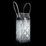 New Wine Bottle Cooler Bag Ice Gel Picnic Drinks Carrier Portable Lunch Chiller