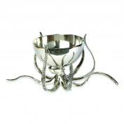 Culinary Concepts Large Octopus Bowl & Tentacle Stand Drinks Ice Bucket Wine