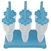 Rocket Shape Ice Lolly Pop Maker Frozen Mould Popsicle Tray Kitchen Cold Summer