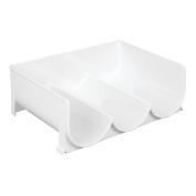Interdesign Stackable Wine Holder For Kitchen Cabinet, Countertops - Holds 3 Bot