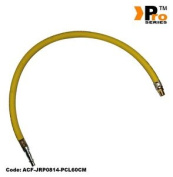 Hi-viz 300psi Whip Hose - 0.6cm Bsp Male + Pcl Type Tail