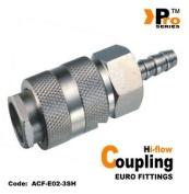 Euro Coupling ( Hi-flow) With ø8mm Hose Connexion