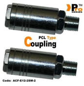 Twin Pack - 0.6cm Bsp Male Pcl Style Quick Release Coupling 010