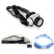 Headtorch - 4 Mode 12 Led Flashlight Head Torch Light Lamp