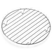 25cm round non stick cooling rack