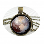 Pluto Pendant Charm Dwarf Planet Pluto Space Probe NECKLACE