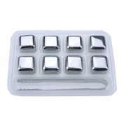 Whiskey Cubes Made From Stainless Steel For Great Look And Fast Chill Your Drink