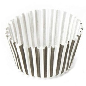 72 X Eddingtons Paper Cup Cake Cupcake Muffin Cases White Black Stripes
