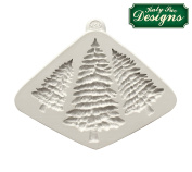 Fir Trees Silhouettes - Katy Sue Designs Silicone Mould For Cake Decorating And