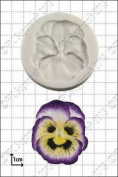 Silicone Mould Pansy   Food Use Fpc Sugarcraft . Within The Uk!