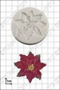 Silicone Mould Poinsettia   Food Use Fpc Sugarcraft . Within The Uk!