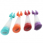 Dianoo 3pcs Cake Decorative Pen, Silicone Cupcake Decorating Pen, Dessert Tools,