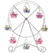 Cupcake Ferris Wheel Display Stand Novelty Cake Holder Chrome